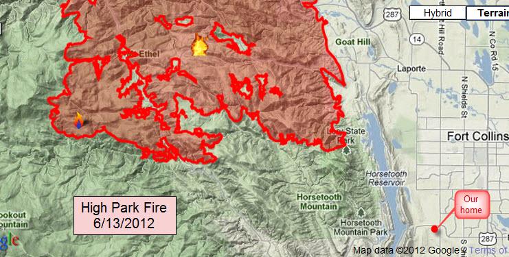 High Park Fire Map.Fire Smoke And Unbundling Update Ayn Hanna